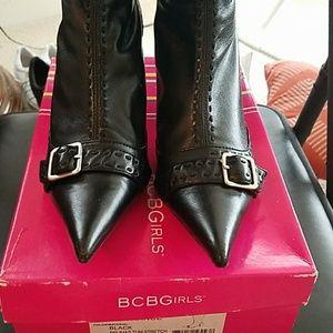 BCBGirls Black stretch boot